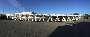 Transports Tarot flotte parc camions