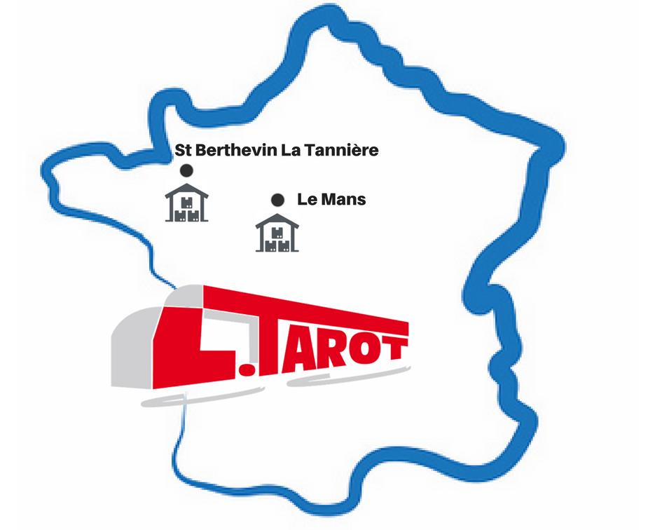Transports Tarot sites stockage