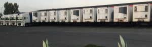 Transports Tarot parc remorque frigorifique