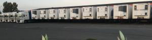 Transports Tarot parc camions frigorifiques