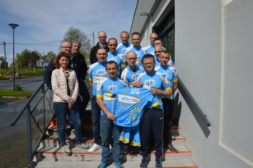 Transports Tarot participent à l'association Team Cycliste Montaudinois