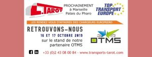 Transports Tarot à Top Transport 2019 via OTMS