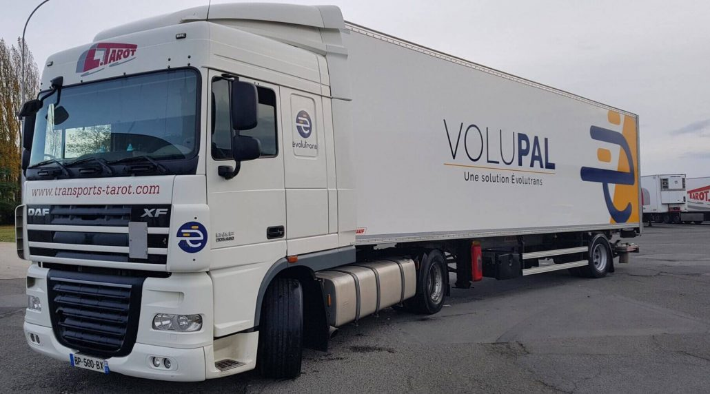 Parc Transports Tarot camions Volupal