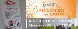 Transports Tarot aux Mardis des Rencontres de l'Emploi à Mayenne 53