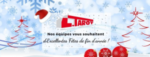 Transports Tarot vous souhaitent de joyeuses fêtes de fin d'année