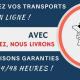 Transports Tarot présente l'application, Vous cliquez & Nous livrons, pour commander vos livraisons de palettes en ligne