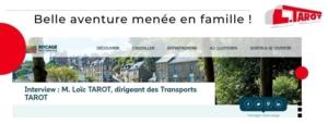 Interview de Loïc Tarot sur l'application Vous cliquez, Nous livrons