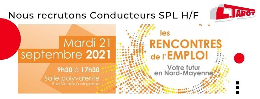 RDV aux rencontres de l'emploi Mayenne 53 le 21 sept 2021